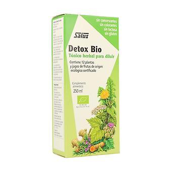 Kruiden Tonic Detox Bio 250 ml