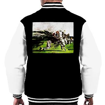 The Saturday Evening Post American Football Tackle Men's Varsity Jacket