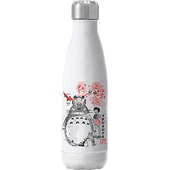 My Neighbour Totoro Sumie Insulated Stainless Steel Water Bottle