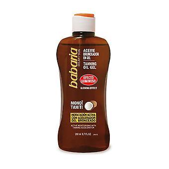 Tanning Oil Brightness Light Effect Gel 200 ml