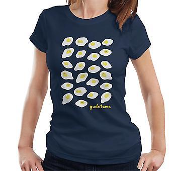 Gudetama The Lazy Egg Montage Mujeres's Camiseta