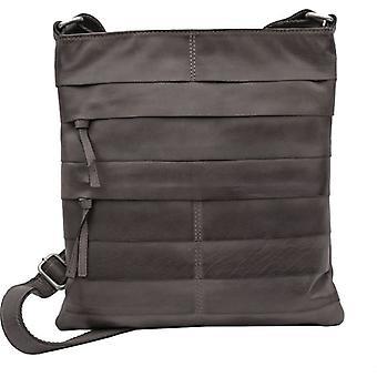 Primehide Womens Large Leather Crossbody Shoulder Handbag Ladies Tablet Bag 671