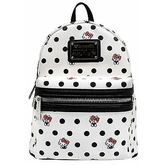 Loungefly X Hello Kitty Polka Dot Pu Mini Backpack