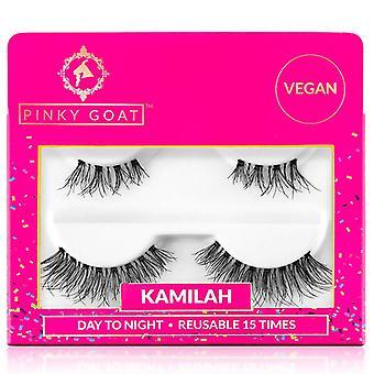 Pinky Goat Day to Night Duo Pack Valse Wimpers - Kamilah - Herbruikbaar 15 keer