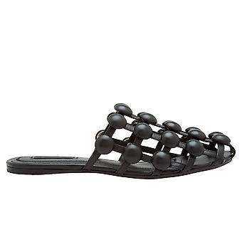 Alexander Wang Ezcr040003 Women's Sandali in pelle nera