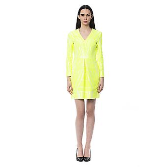 Byblos Giallofluo Dress BY997164-IT42-S