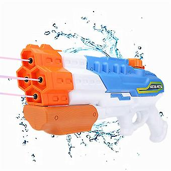 1200cc Water Soaker Gun - 4 Nozzles Water Blaster Squirt Gun For Combat Games