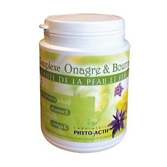 Complexe Onagre/Bourrache 500 mg + Vit E 180 capsules