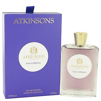 Love In Idleness Eau De Toilette Spray By Atkinsons 3.3 oz Eau De Toilette Spray