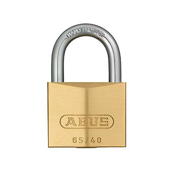 ABUS 65/40mm Brass Padlock Keyed Alike 404 ABUKA03899