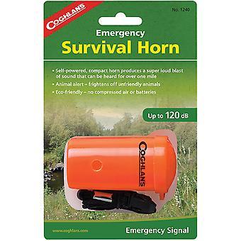 Coghlan's Alerta de vida de emergencia cuerno de la supervivencia animal para el silbato de rescate del campamento de senderismo
