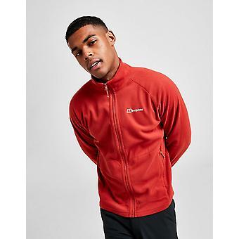 New Berghaus Men's Hartsop Full Zip Fleece Jacket Red