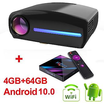 Full Hd Keystone Led Projector Android , wifi Portable , Home Theater Beamer