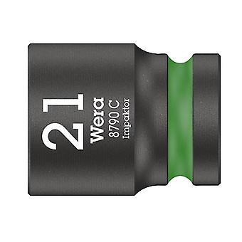 Wera 8790 C Impaktor Socket 1/2in Drive 21mm 05004578001