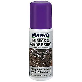 Nikwax Clear Nubuck & amp; Scamoscionato 125ml Impermeabile