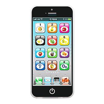 Children's Simulation Mobile Phone Touch Screen Educational Toys, Music Lights