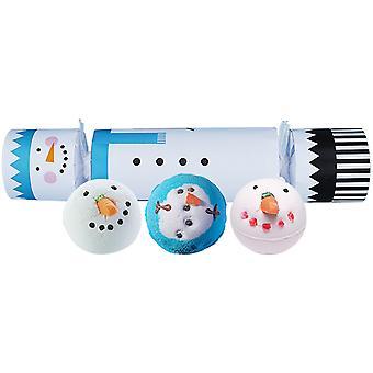 Pommi kosmetiikka kylpy blaster cracker joulu lahjapakkaus setti