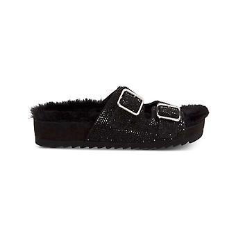 INC internationale concepten Womens Alani Faux Fur open teen casual dia sandalen