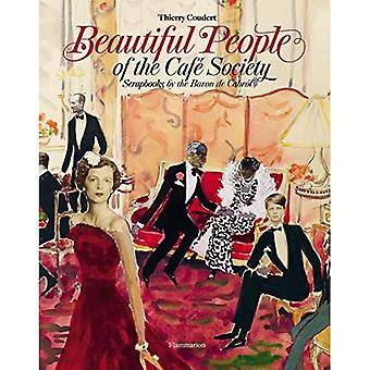 Mooie mensen van de Cafe Society: Plakboeken door de Baron de Cabrol