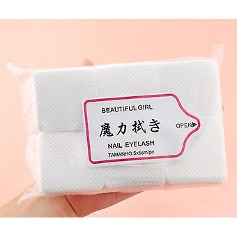 Lint Free Nail Polish Remover Cotton Wipes, Uv Gel Tips Cleaner Paper Pad