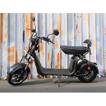 "Fatboy City Coco Smart E Electric Scooter Harley - 13 ""- 1500W - 20Ah - B Class - Black"