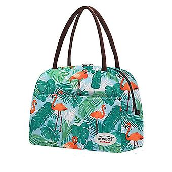 Fashion Portable Insulated Canvas, Thermal Food, Lunch Bags