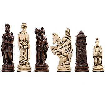 Berkeley Chess Roman Russet Chess Men