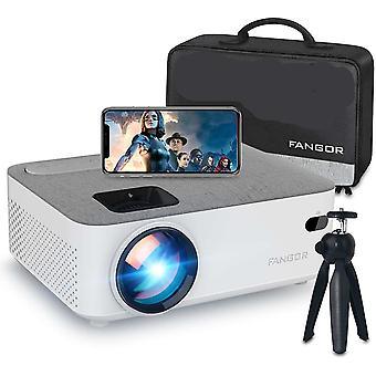 Mini Wifi Projektor, Bluetooth Video Projektor 720P native Aktualisiert 5500 Lumen