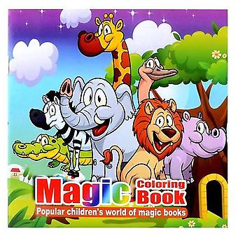 22pages Cute Animal Style Secret Garden Magic Coloring Book