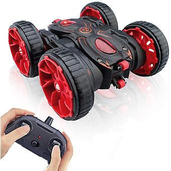 ❤【Play Together】: Anti-Interference remote control range 25m, 2.4 GHz frequency very stable allow several players to race with the RC car at the same time. The buttons on the remote control are simplified, fewer buttons, easy to use. ❤【Unlock Various New