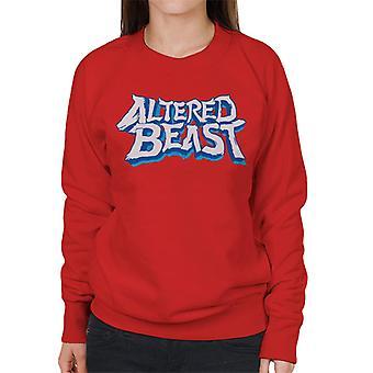 Sega Endret Beast Logo Kvinner&ampos;s Sweatshirt