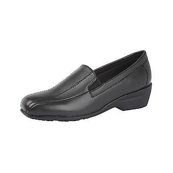 Dr Keller Womens/Ladies Tramline Leather Shoes