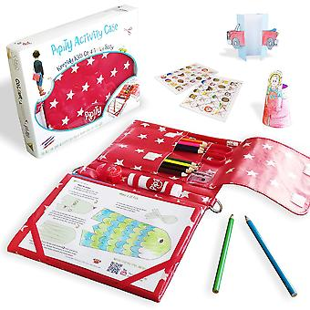Pipity kids activity sets. holiday essentials with art set + activities books: arts, craft, travel g