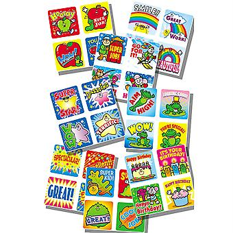 Motivational Sticker Set Sticker Collection, 960 Pegatinas