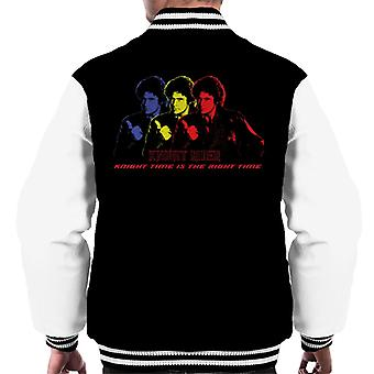 Knight Rider Knight Time Is The Right Time Men's Chaqueta Varsity