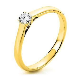 Luna Creation Promessa Solitairering 1A441G452-6 - Ring width: 52