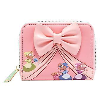 Cinderella Purse Peek A Boo 70-årsjubileum nya officiella Loungefly Disney Pink