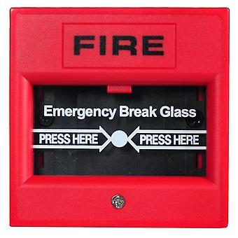 Sürgősségi üveg törött gomb 2-vezetékes kézi híváspont tűzjelző rendszer