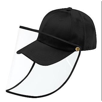 Защитная шляпа лицо Анти слюна съемный щит