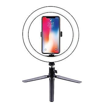 Esnek Cep Telefonu Tutuculu Selfie Yüzük Işığı