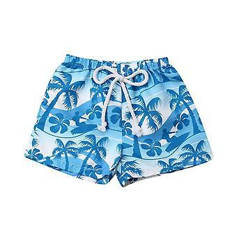 Baby Elastic Pas Krátký kufr Letní prázdninové plavky Beachwear Šortky