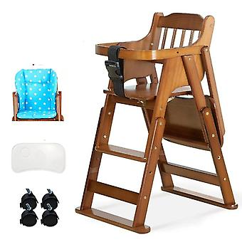 Baby Foldable Height Adjustable Shining Dining Kids Feeding Chair