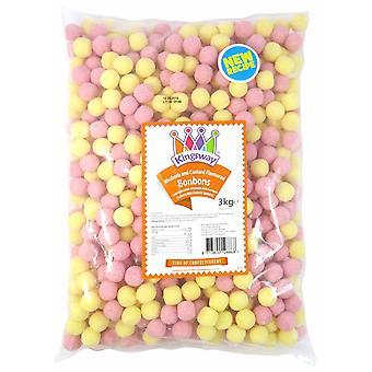 Kingsway Pick & Mix Confectionary Rhubarb & Custard Bonbons 1 Kilo