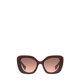 Miu Miu MU 06XS pink bordeaux female sunglasses