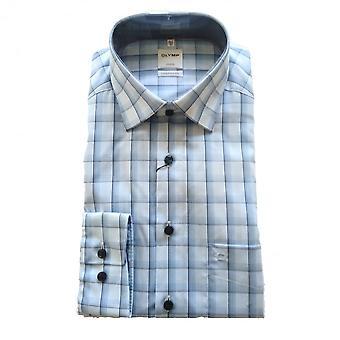 OLYMP Olymp Blue Shirt 1082 74