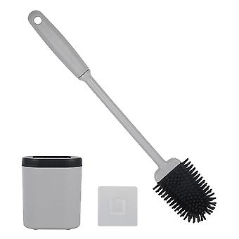Escovas e suporte de banheiro de silicone flexíveis