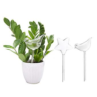 Garden house automatic watering device small bird five-pointed star lazy watering device gardening tool