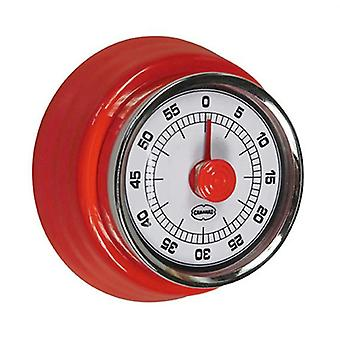 cooking timer Retro 7.5 cm steel red