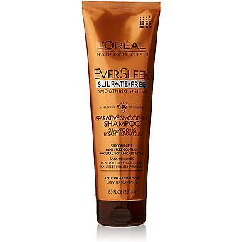 L'Oreal Paris Eversleek Sulfaattivapaa värin tasoitusjärjestelmä Korjaava tasoitus shampoo