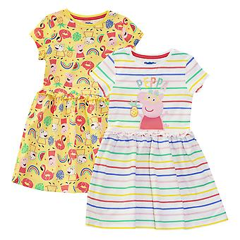 Peppa Pig Girls Suzy Rainbow ruha szett (Pack of 2)